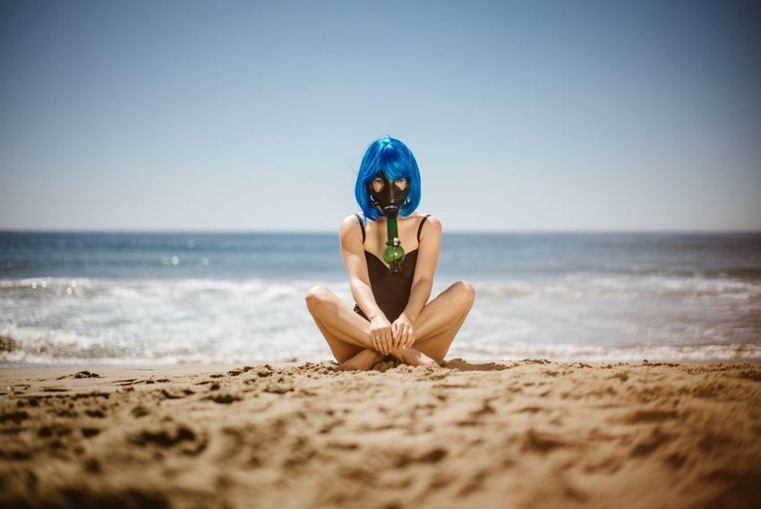 Bong Beach Blue Sun California Goodvibes