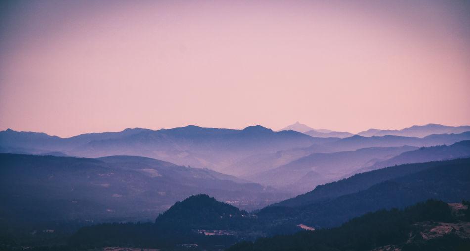 Mountain Scenics - Nature Mountain Range Landscape No People
