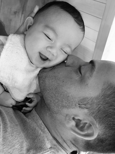 My family❤️ My Boys My Loves My Family My Son My Husband Taking Photos Enjoying Life Love ♥ Hello World Precious Love My Son Love My Husband Happy Blackandwhite Black And White