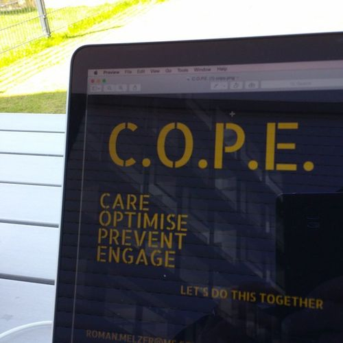 C.O.P.E. - Care Optimise Prevent Engage