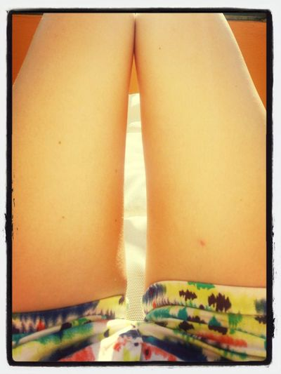 Having a great time in Mexico Mexico <3 Thigh Gap Rainbow Shorts
