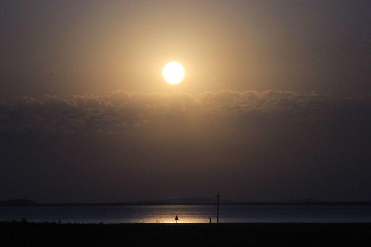 Sunset Anapa