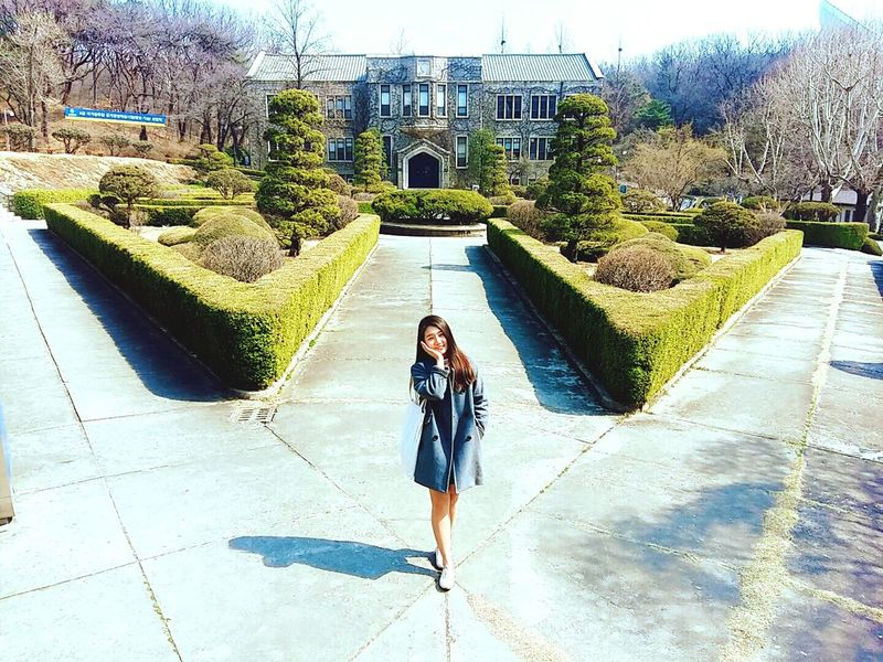 University Campus Yonsei YonSei University University Love Dream