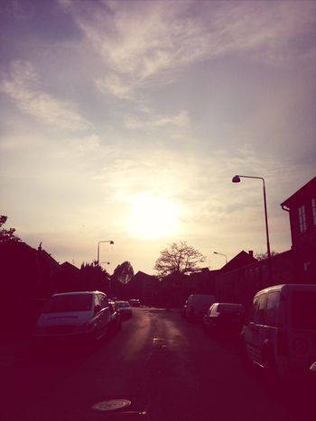 On my way home this evening :) Sun Street Photography Street