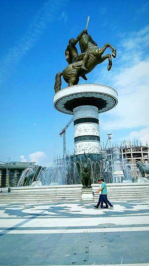 Showcase: November Monument Skopje Alexanderthegreat