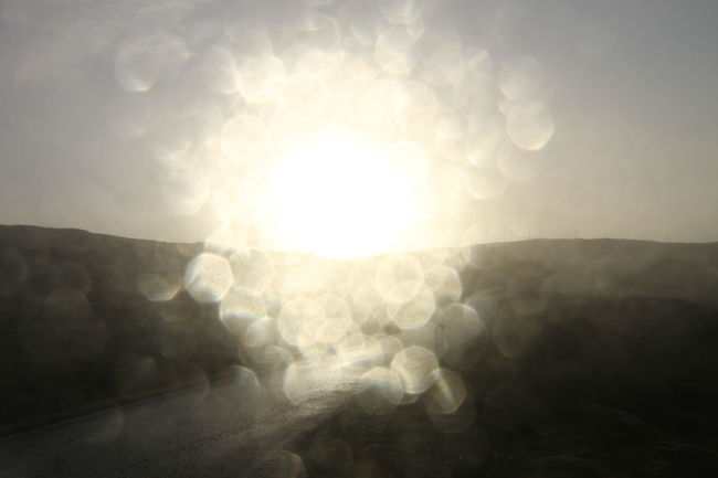 photograph taken during the Atlantic hurricane hitting Shetland Islands in 2016 An Eye For Travel Beauty In Nature Bright Brightly Lit Day Hurricane - Storm Illuminated Lens Flare Nature No People Outdoors Refraction Shetland Islands Strorm Sun Sunbeam Sunlight