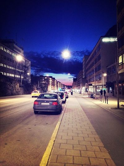 Hornsgatan View Sunset Stockholm