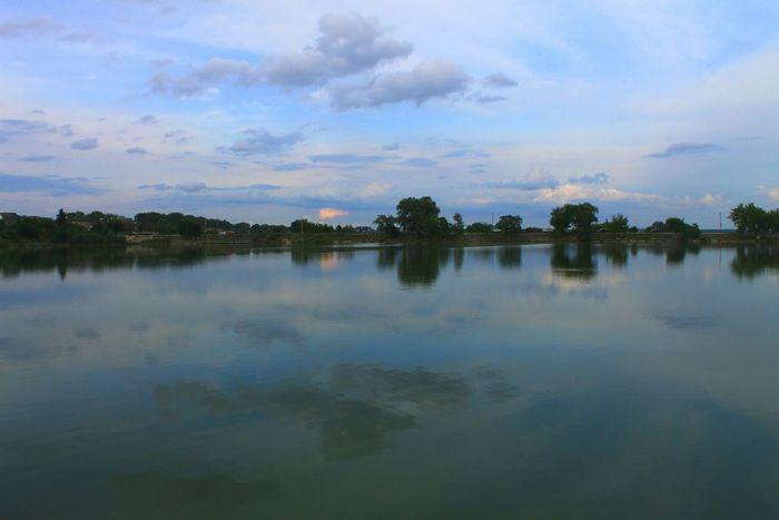 Lake Ukraine Beautiful Nature Photo Canon Landscape Water Evening