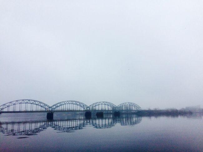 Fog River Riga Latvia