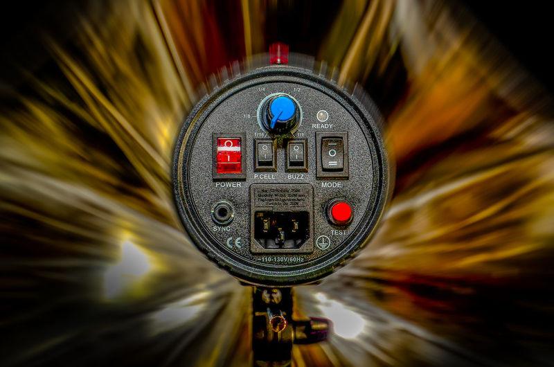 Flash Me.... Blurred Motion Flash Illuminated Light Monolight Selective Focus Studio Photography Umbrella