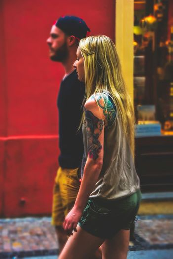 People People Photography INKEDGIRL Tattoos Street Photography Peoplephotography Streetphotography Faces Of EyeEm Girl Beauty Redefined