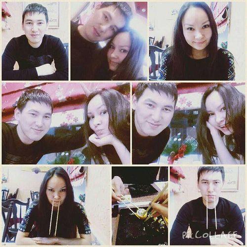 Веселый вечер в компании @tastinec в замечательном суши-баре киото в Кокшетау пятница  Суши Роллы пицца сушибар друзья PicCollage  Спасибо @meirambek208 за совет в выборе😄😄