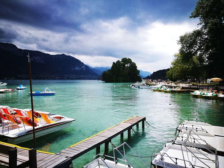 Tree Water Mountain Lake Nautical Vessel Sky Cloud - Sky The Great Outdoors - 2018 EyeEm Awards