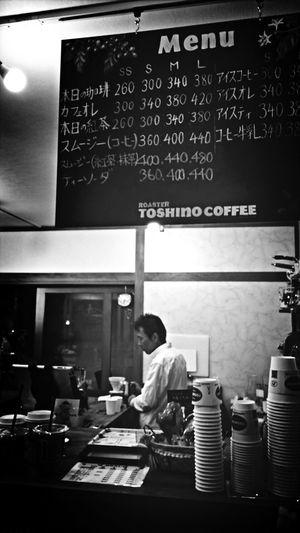 8月ニューオープンのコーヒーショップ。トライ。