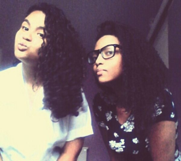 Best Friends Love ♥ Black Girl model