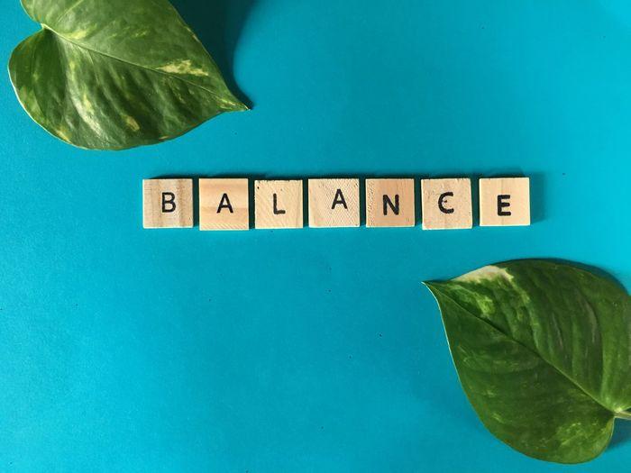 BALANCE, words