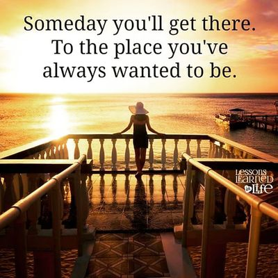 Dailyquote Someday I 'll Get there pray hope working hard never give up