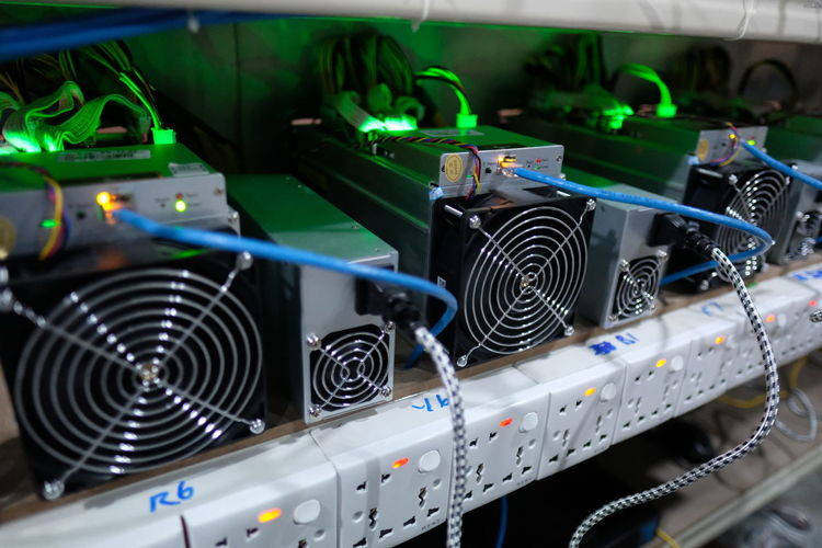 Computer Parts Industry Bitcoin Bitcoin Miner Bitcoin Mining Bitmain Blockchain Electricity  Fans Network Network Connection Plug Technology