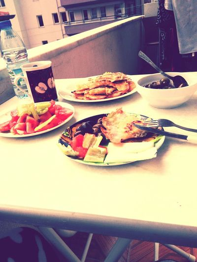 Bu da yalnızlık kahvaltısı 😊😋