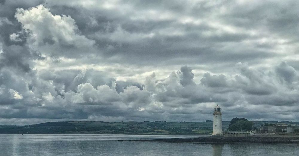 Sea Cloud - Sky Sky Water Architecture Building Exterior Built Structure Tower Lighthouse First Eyeem Photo