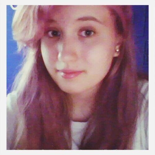 Pink Hair Hello Smile ✌