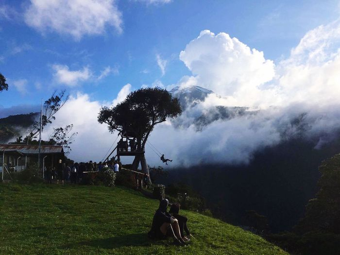 Treehouse Volcano Ecuador Nature Photography