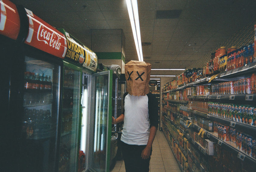Market Supermarket Unknown Buy Food Mask Plus Shop