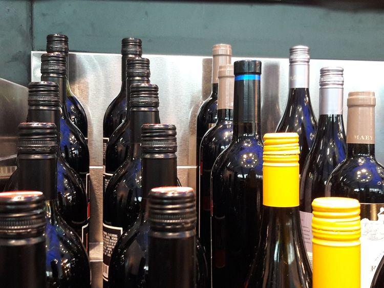 Bottle Close-up Wine Bottle Wine Rack Sommelier Red Wine Wine Cork For Sale Display Various Winery Corkscrew Assortment Winetasting Warehouse Liquor Store