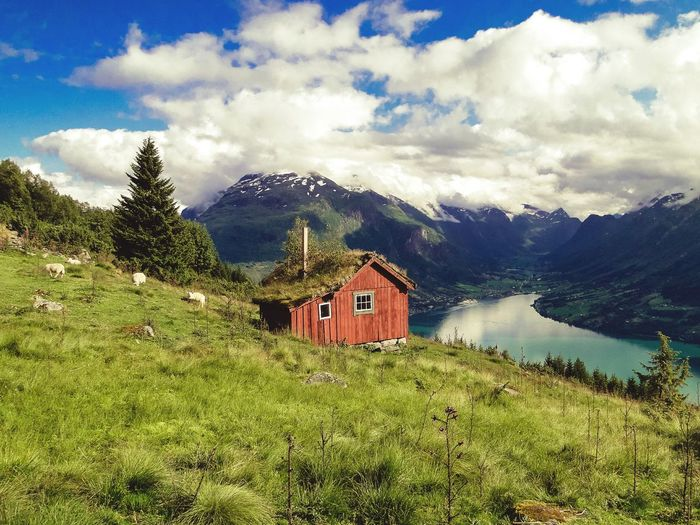 Norway Landscape EyeEm Best Shots - Landscape Olden Stryn Summertime Norway Nature Klaquax_Norway