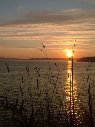 #sunset #water View #Elger Bay