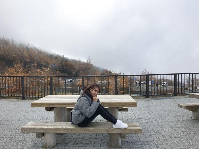 cold!!! Fujisan