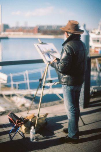 35mm Film Film EyeEm Best Shots Yokohama Drowning Oldman Harbor Sunny Day