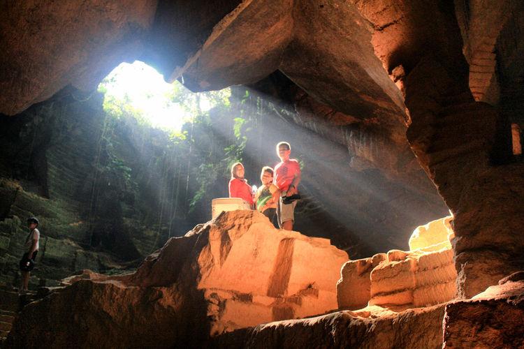 Beautiful ROL at Arosbaya Cave Adventure Arosbaya Madura Madura Island Mountain Nature Ray Of Light Rock Formation Rol Sunlight Travel Destinations Vacations Summer Sports