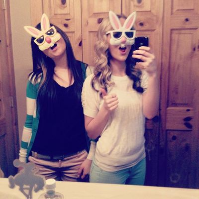 Happy Easter bitches. ???✌Easter Bunnies Wecool Bff 5ever