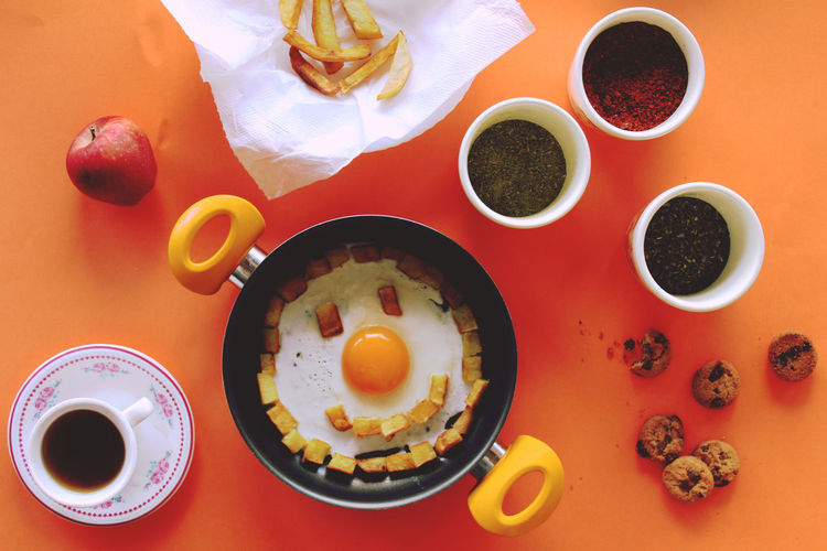 Breakfast. :) Breakfast Colorful Food Food And Drink Indoors  Photography Smile Still Life