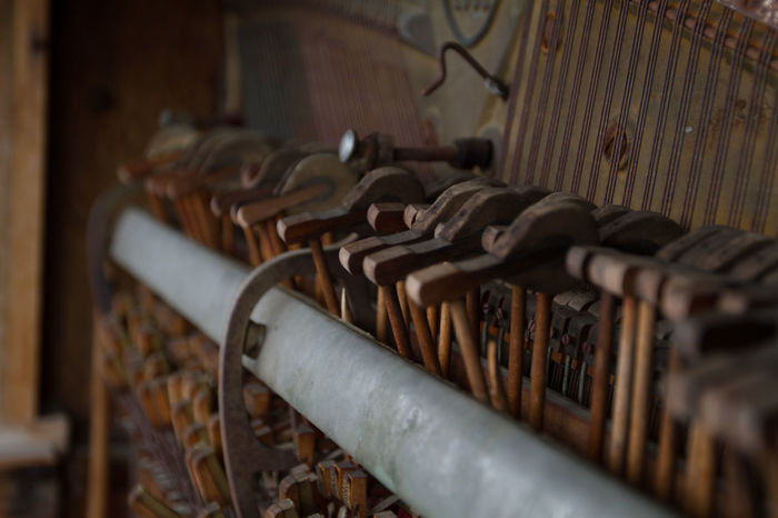 Old Keys Animal Themes Cellar Close-up Cowboy Day In A Row Indoors  Large Group Of Objects No People Paino Piano Selective Focus Women Wooden