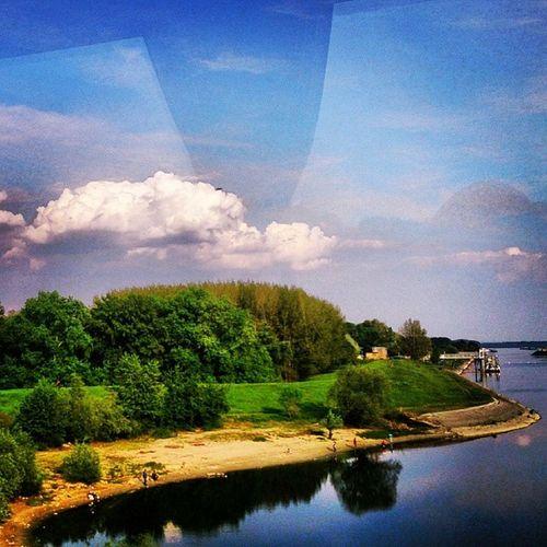 Instagramsrbija Clouds Sky Cloud blueskys cloudstagram skysnappers nature blue white igcentric_nature light skylovers skystyles_gf ic_skies iskyhub iloveclouds iskygram natur vojvodina novisad