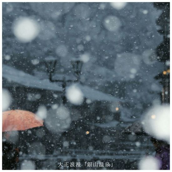 Snow 銀山温泉 Japan YAMAGATA EyeEm Nature Lover EyeEm Best Shots Bokeh Nature Winter
