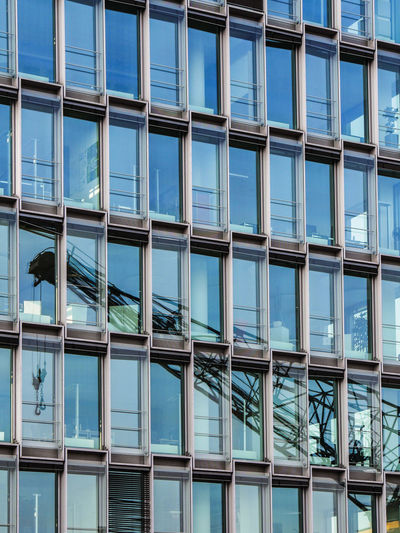 URBANANA #urbanana: The Urban Playground Reflection Architecture Available Light Backgrounds Blue Building Building Exterior Built Structure City Day Full Frame Glass - Material Low Angle View Modern Nature No People Office Office Building Exterior Outdoors Pattern Reflection Streetphotography Window