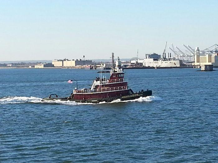 Tugboat in New York Harbor New York Harbor