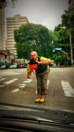 Clown Palhaço Arte Urbana Streetphotography