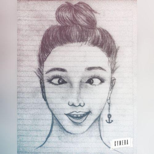 Sketch Drawing Portrait Draw Inktober Illustration