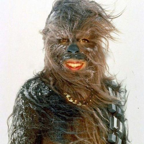 Me as chewie 👌 Chewbacca Starwars Chewie Grrryyrrrryrrrr selfie