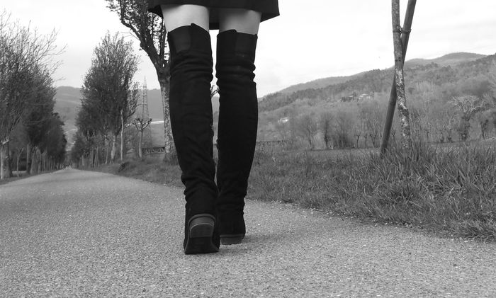 For a walk Black And White Human Body Part Human Leg Nature One Person One Woman Only Outdoors Black And White Friday Standing Walking Women Boots Shoes Tranquil Scene Welcome To Black Long Goodbye Resist BYOPaper! EyeEm Selects Sommergefühle The Week On EyeEm Mix Yourself A Good Time Lost In The Landscape Connected By Travel Perspectives On Nature EyeEm Ready   Fashion Stories Love Yourself Press For Progress Stories From The City Visual Creativity Focus On The Story #FREIHEITBERLIN The Street Photographer - 2018 EyeEm Awards The Still Life Photographer - 2018 EyeEm Awards The Fashion Photographer - 2018 EyeEm Awards The Creative - 2018 EyeEm Awards Summer Road Tripping The Great Outdoors - 2018 EyeEm Awards The Traveler - 2018 EyeEm Awards Urban Fashion Jungle Be Brave A New Beginning