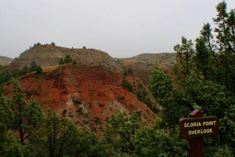 Scoria Point Overlook, Theodore Roosevelt National Park Theodore Roosevelt National Park North Dakota Badlands Mountains Geology