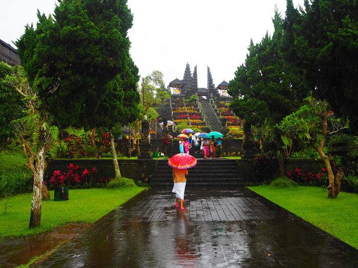 ☔️Rainy day☔️ Travel Besakih Temple Bali Bali, Indonesia Adapted To The City Street Photography Architecture Cultures Day Exceptional Photographs Freshness Full Length Landscapes Miles Away Multi Colored Outdoors People Place Of Worship Religion Spirituality Tadaa Community Tourism Umbrella The City Light Travel Destinations Women Around The World Art Is Everywhere The Great Outdoors - 2017 EyeEm Awards The Photojournalist - 2017 EyeEm Awards Done That. Been There. An Eye For Travel The Traveler - 2018 EyeEm Awards