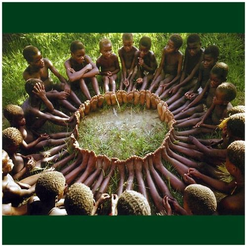 "An anthropologist proposed a game to the kids in an African tribe. He put a basket full of fruit near a tree and told the kids that who ever got there first won the sweet fruits. When he told them to run they all took each others hands and ran together, then sat together enjoying their treats. When he asked them why they had run like that as one could have had all the fruits for himself they said: ''UBUNTU, how can one of us be happy if all the other ones are sad?'' 'UBUNTU' in the Xhosa culture means: ""I am because we are"" Ubuntu IAmBecauseWeAre Unity SharingIsCaring"