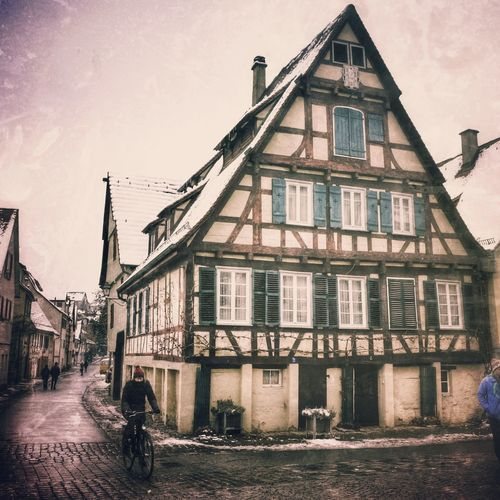 Tuebingen Cold Cold Temperature Cold Days Travel Cold Winter House Architecture City Façade Building Exterior Built Structure Outdoors Cityscape Day An Eye For Travel