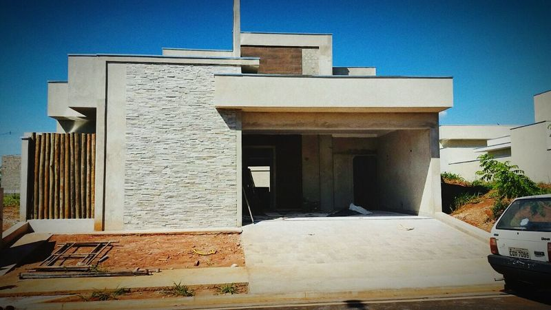 Obra Residência Térrea Villagr Damha III Rio Preto Obras Engenharia Arquitetura First Eyeem Photo