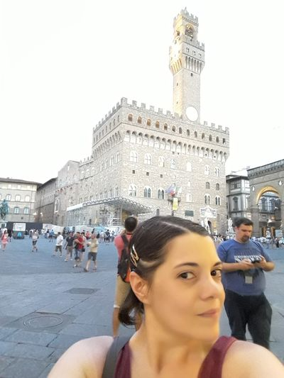 Firenze Adult Architecture Building Exterior Built Structure City Crowd Group Of People History Incidental People Italy Leisure Activity Lifestyles Men Outdoors People Portrait Real People Tourism Tourist Travel Travel Destinations Varda Women